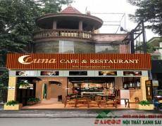 Thiết kế Thi Công Nội Thất Nhà Hàng Quán Cafe Tại Quận Tân Bình Với Chi Phí Từ 300 Triệu