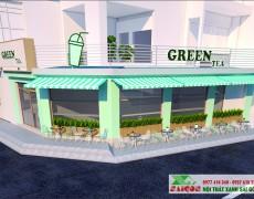 Dự Án Quán Trà Sữa Green Tea Tại Quận 9