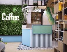Dự Án Thiết kế và Thi Công Nội Thất Quán Cafe 1985 Tại Quận 9