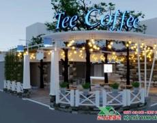 Dự Án Thiết kế Thi Công Nội Thất Quán Cafe Tee Coffe Tại Bà Rịa Vũng Tàu