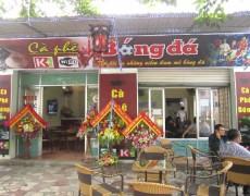 Phong Cách Nội Thất Quán Cafe Bóng Đá