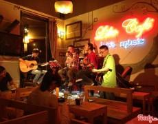 Phong Cách Nội Thất Quán Cafe Âm Nhạc
