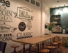 nội thất quán cafe theo phong cách Vintage